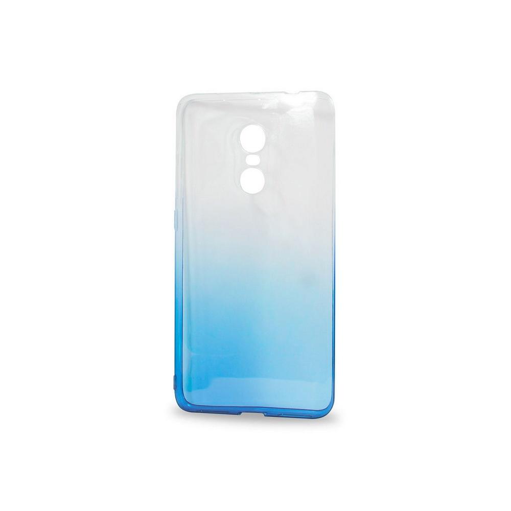 Чехол для сотового телефона IQ Format Xiaomi redmi note 4, силиконовый, синий цена и фото