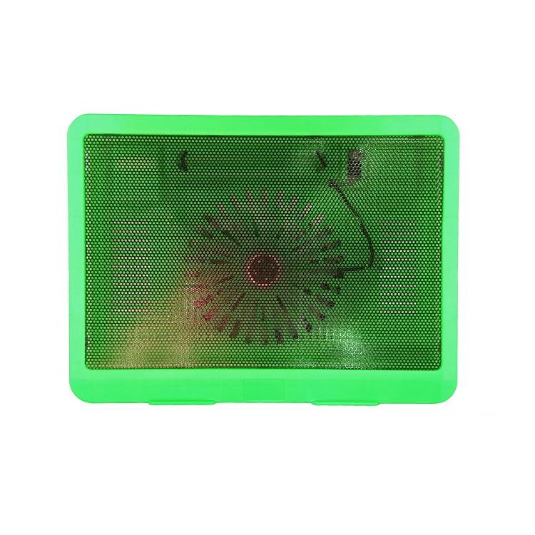 Подставка Lumobook под ноутбук, охлаждающая, 14-15.6 дюймов, зеленая, 33,5х22,5х2,9 см, зеленый ноутбук как использовать