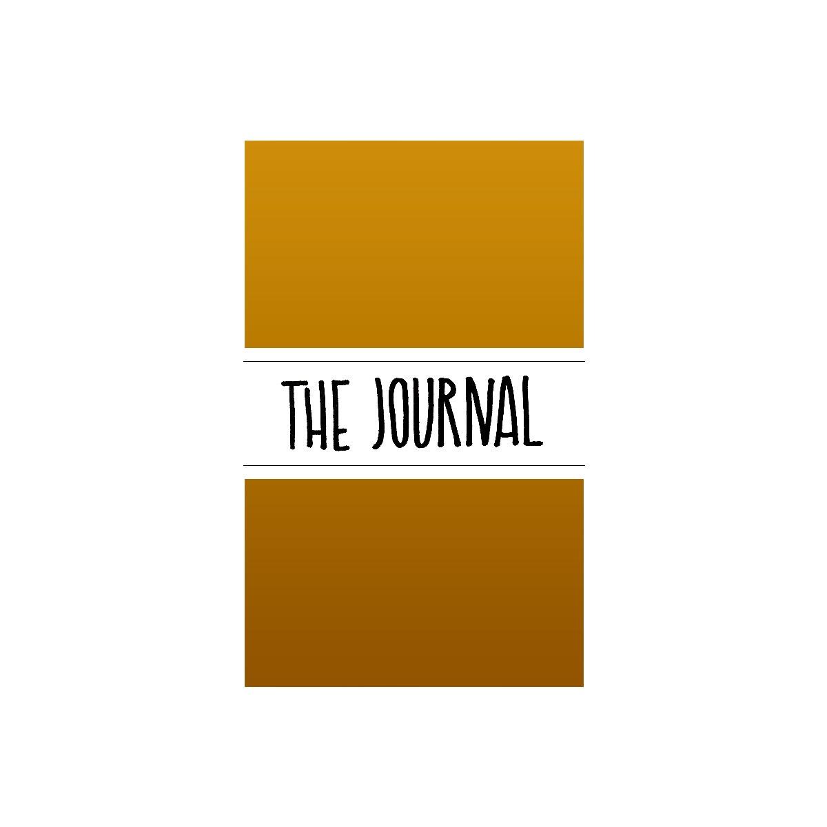 Maxgoodz Ежедневник The Journal Матовое Золото, 2 тетради, A5