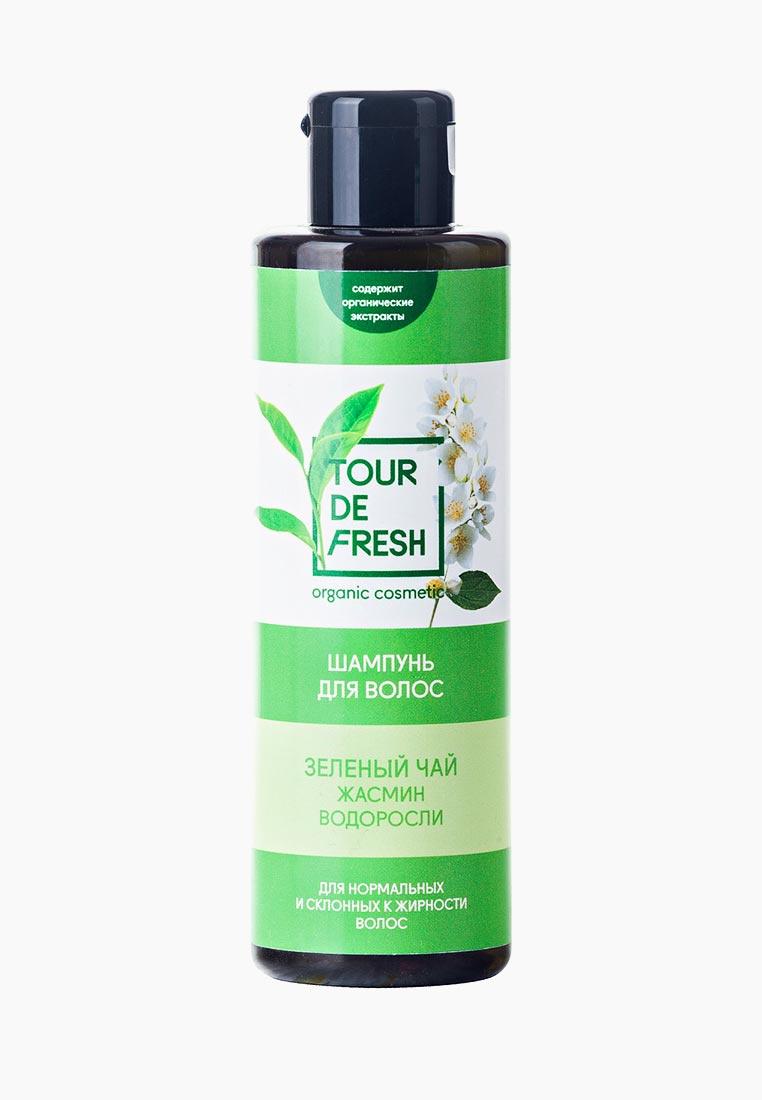 Шампунь для волос Tour de fresh Зеленый чай -жасмин - водоросли чай жасмин