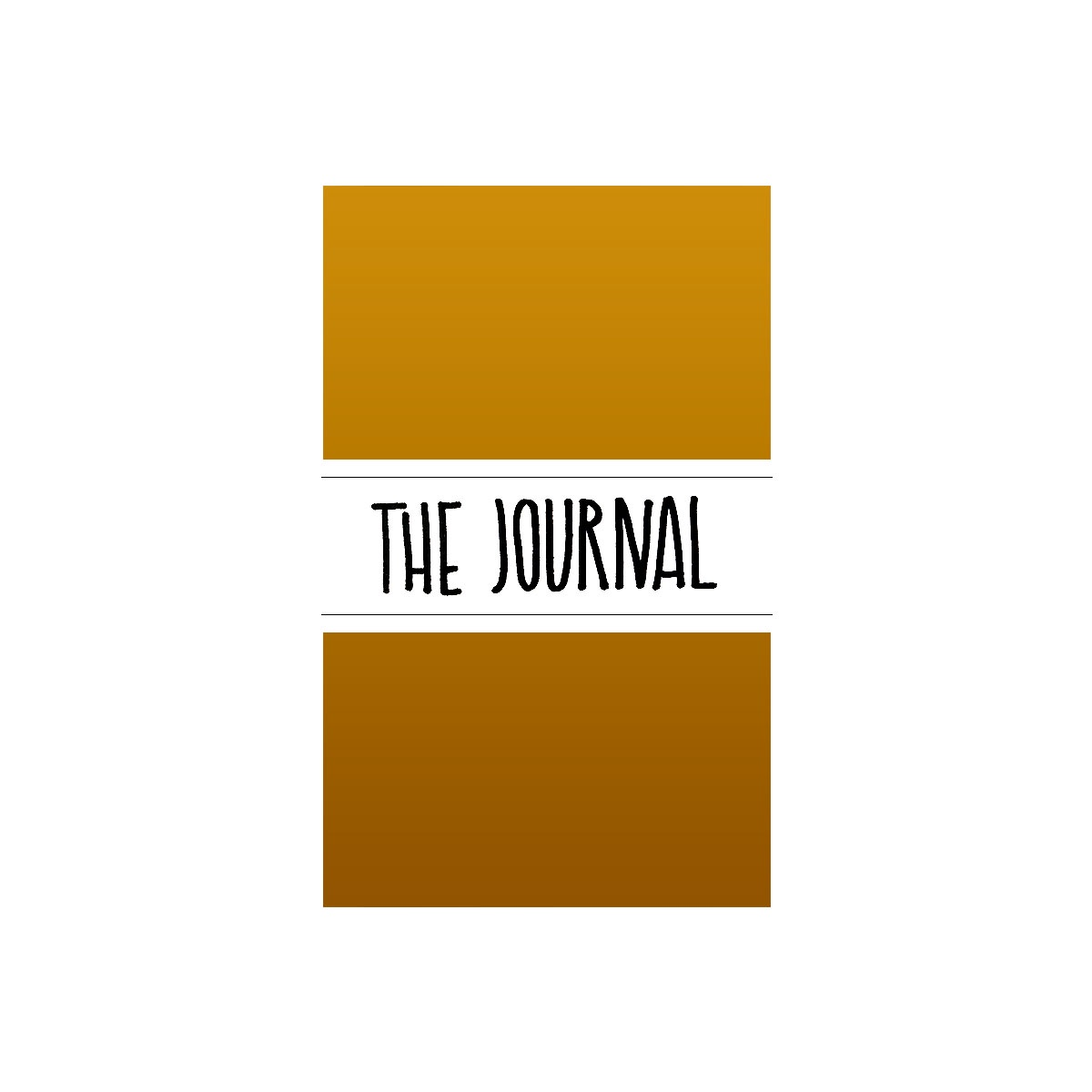 Maxgoodz Ежедневник The Journal Матовое Золото, 2 тетради, В5