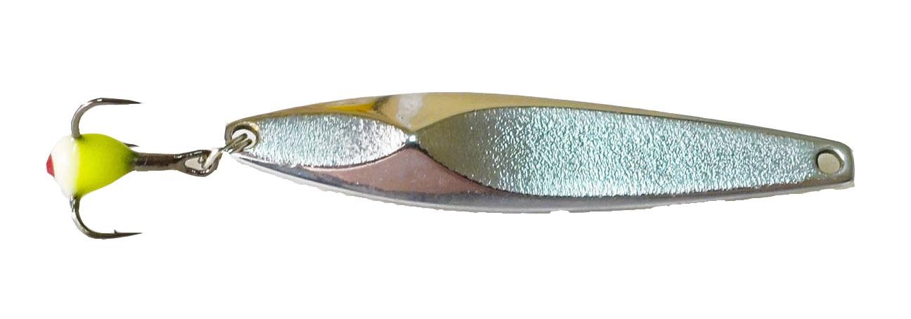 Блесна KTL45gs, 1 блесна зимняя aqua блик