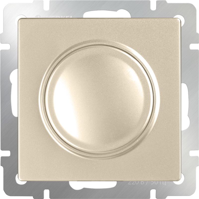 WL11-DM600 / Диммер (шампань) диммер белый wl01 dm600 4690389045684