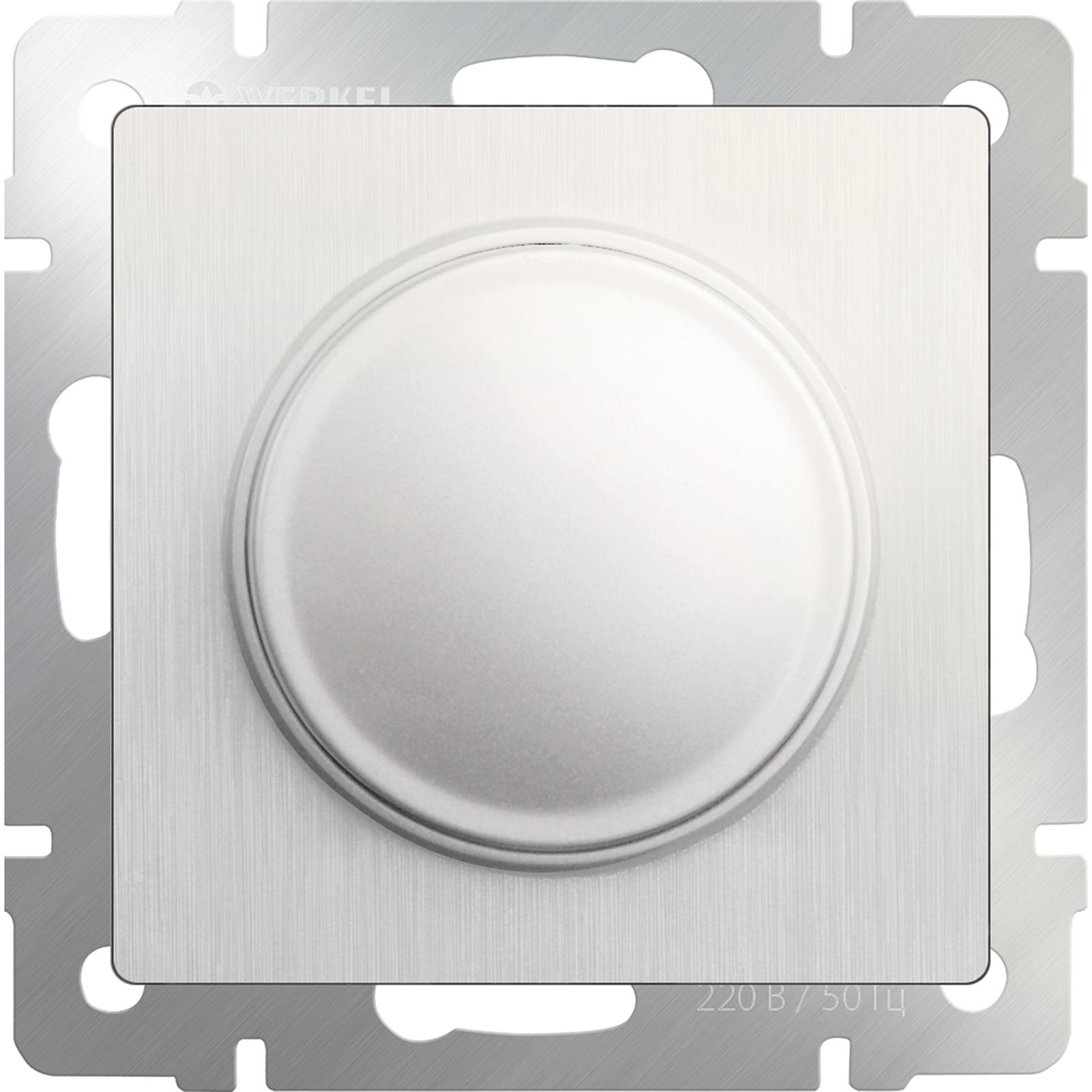 Диммер Werkel (перламутровый рифленый) WL13-DM600, светло-бежевый диммер белый wl01 dm600 4690389045684