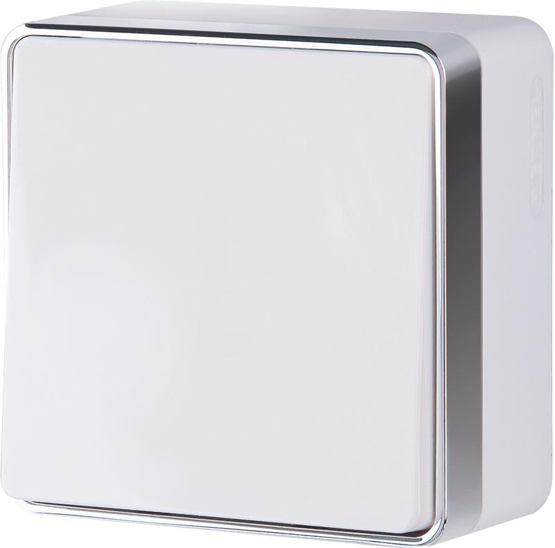 WL15-01-01/ Выключатель одноклавишный Gallant (белый)