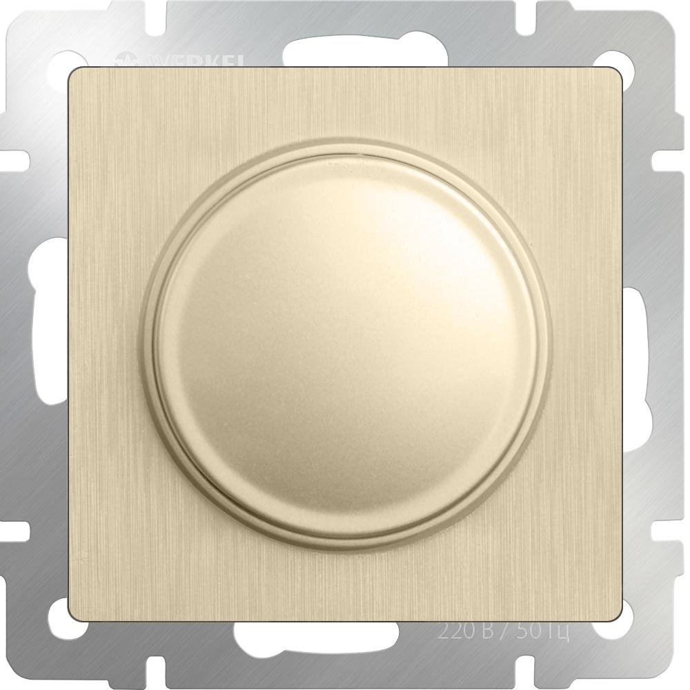 WL10-DM600 / Диммер (шампань рифленый) диммер белый wl01 dm600 4690389045684