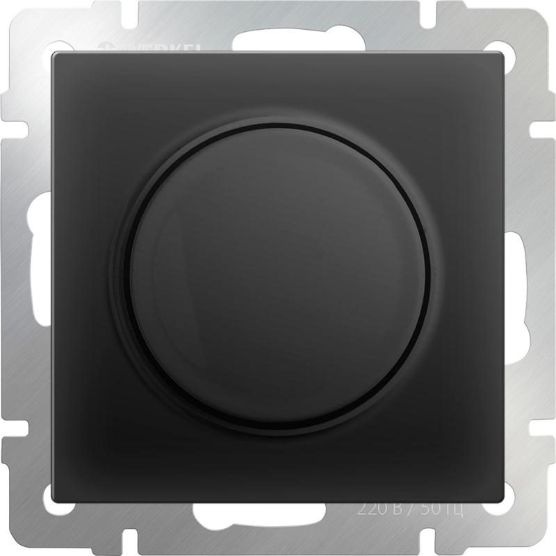 цена на Диммер Werkel (черный матовый) WL08-DM600, черный