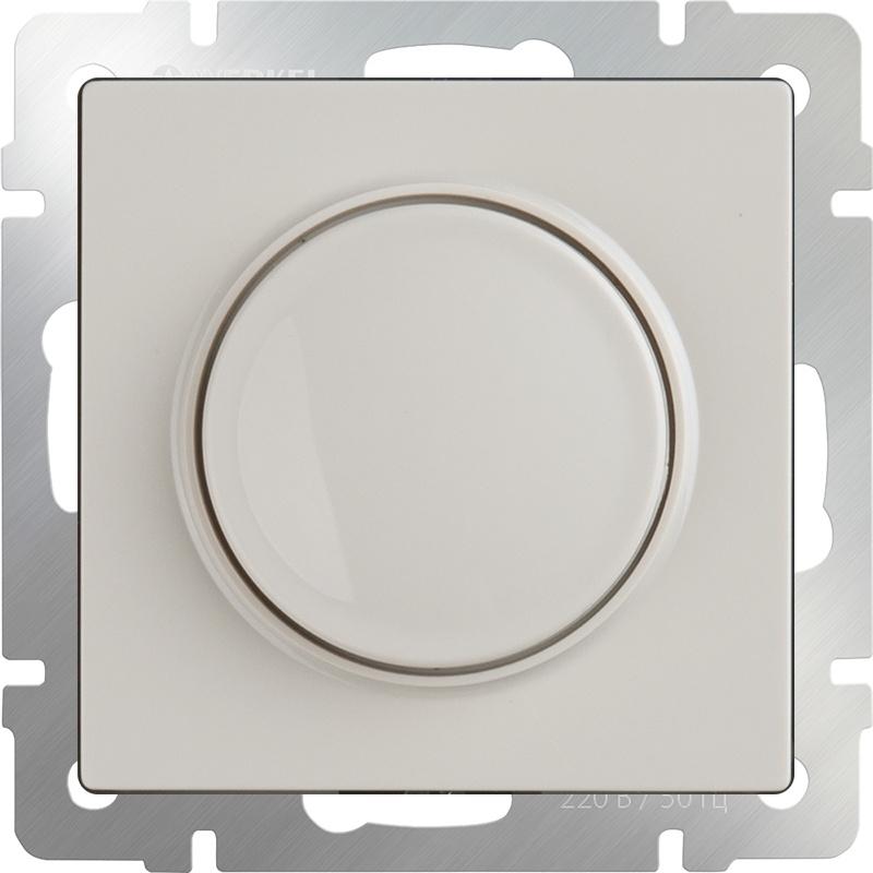 Диммер Werkel (слоновая кость) WL03-DM600-ivory, слоновая кость