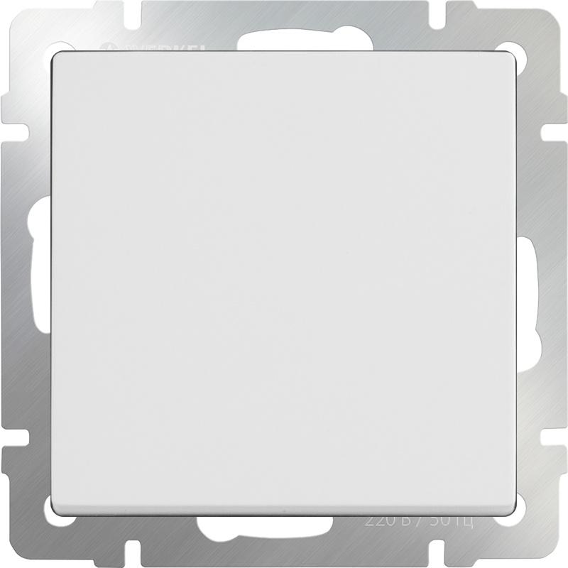 WL01-SW-1G / Выключатель одноклавишный (белый)