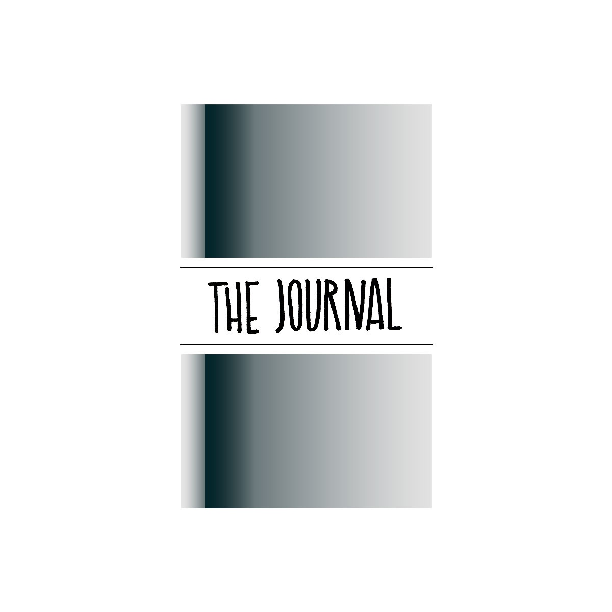 Maxgoodz Ежедневник The Journal Глянцевый Хром, 2 тетради, В5