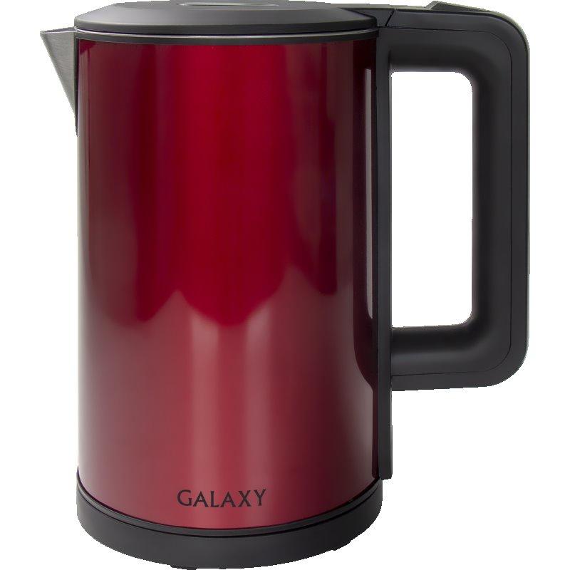 Электрический чайник Galaxy GL0300 КРАСНЫЙ чайник электрический galaxy gl0553