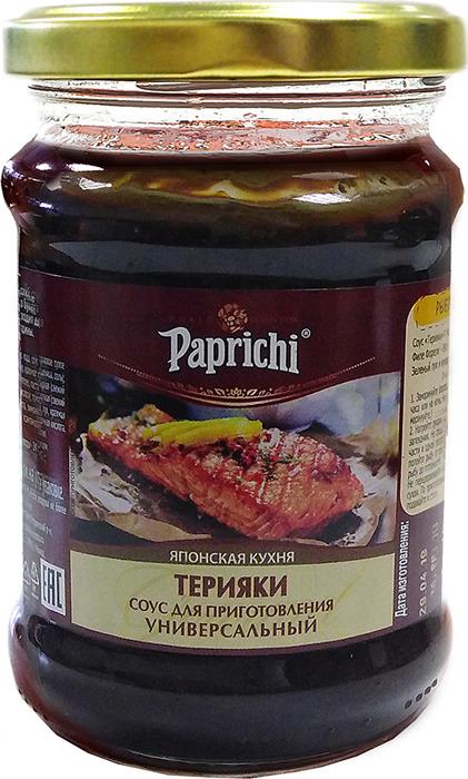 Сен Сой Папричи Соус Терияки, 280 г приглашаем к столу мясо рыба птица