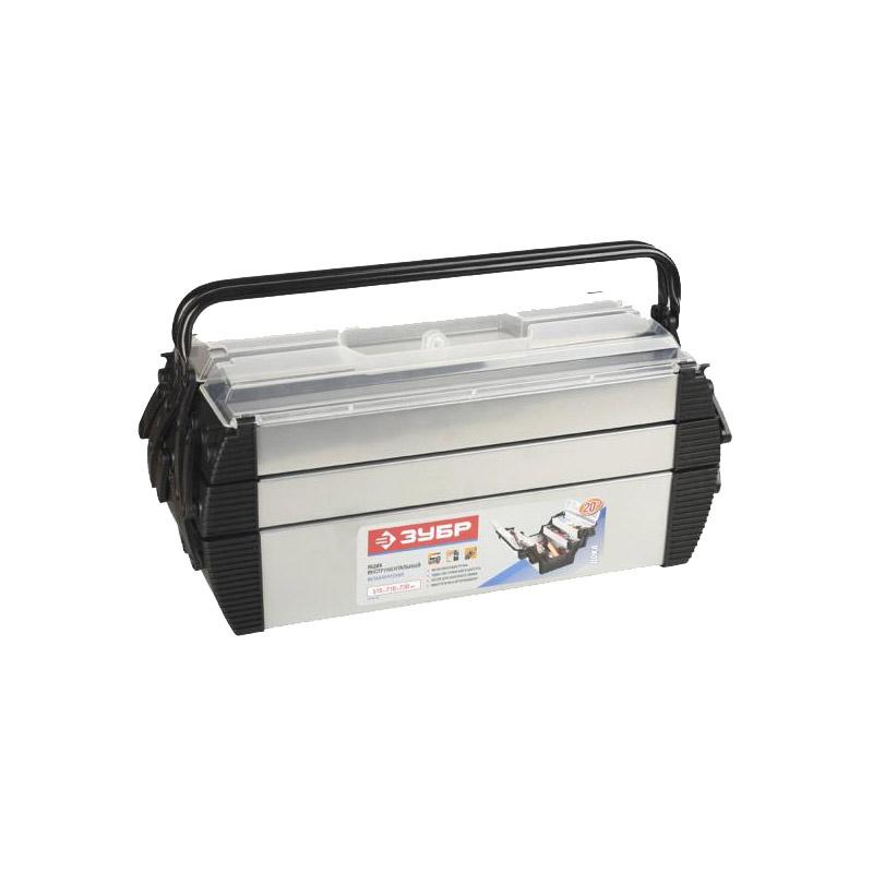 Ящик для инструментов ЗУБР 38163-20 ящик для инструментов зубр 38324 z01