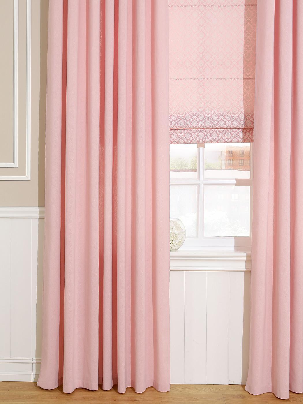 Штора Томдом Рамбус, розовый шторы томдом классические шторы хайм цвет бежевый