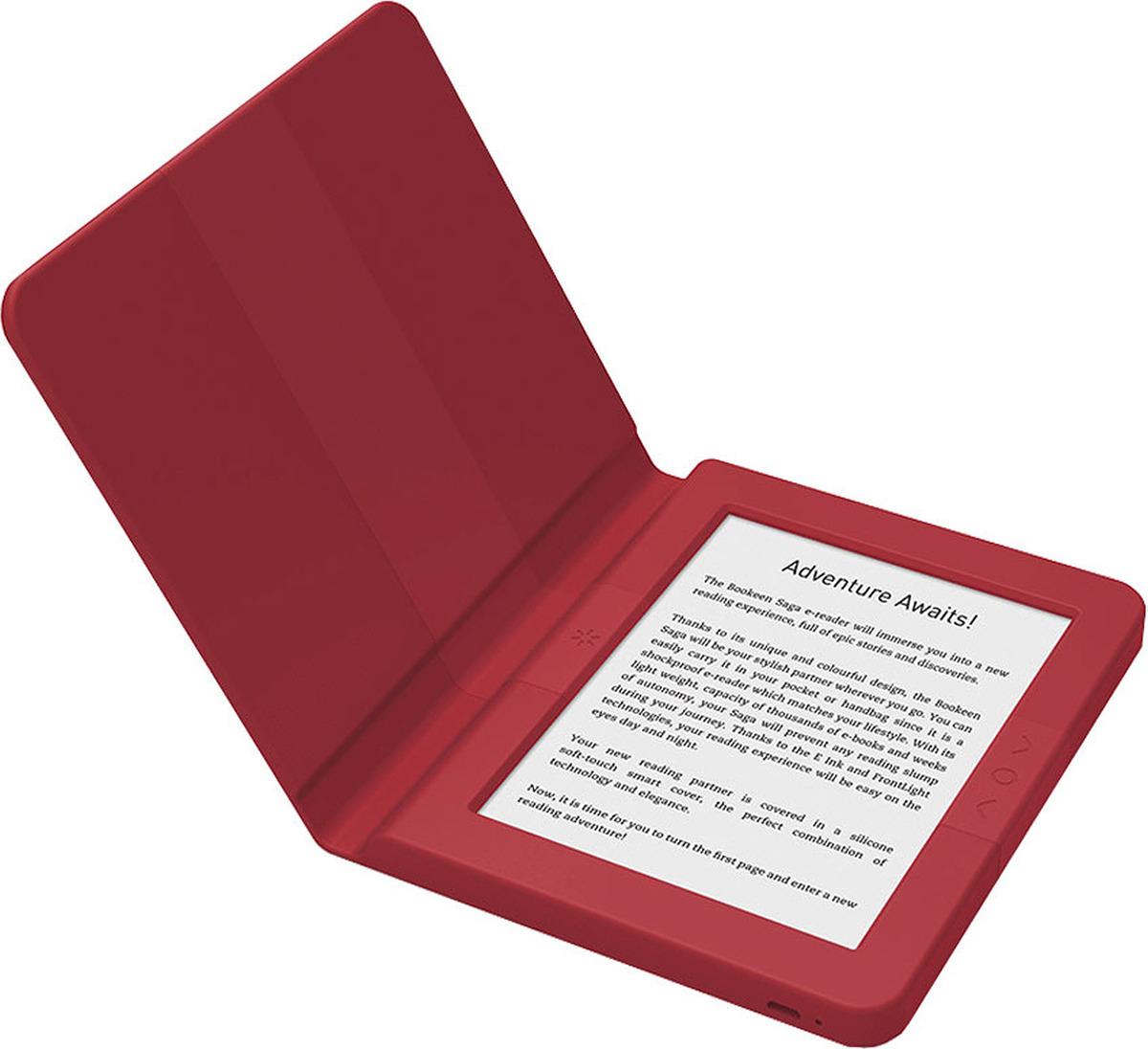 Электронная книга Bookeen Saga, красный Bookeen