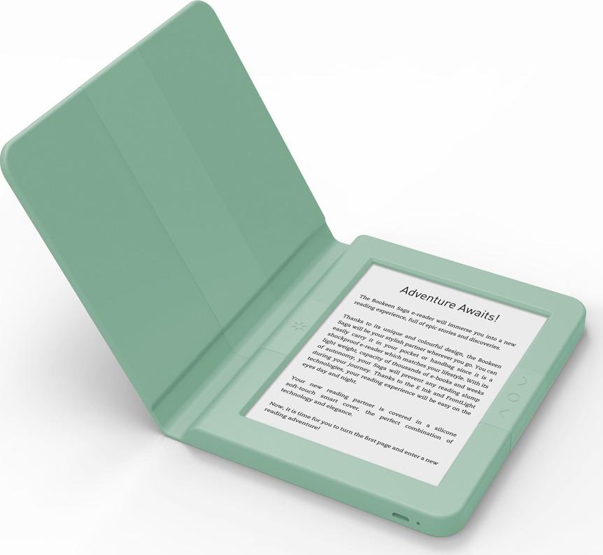 Электронная книга Bookeen Saga, зеленый Bookeen