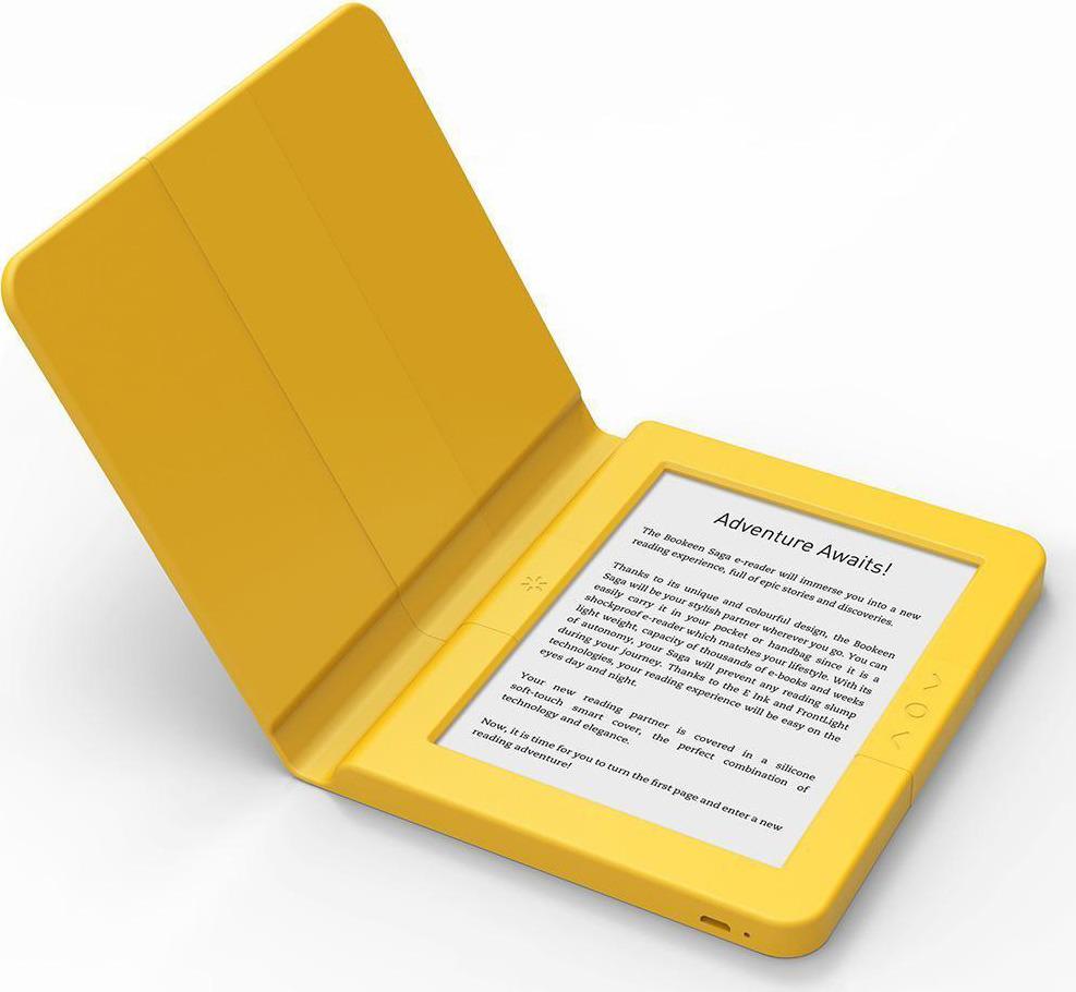 Электронная книга Bookeen Saga, желтый Bookeen