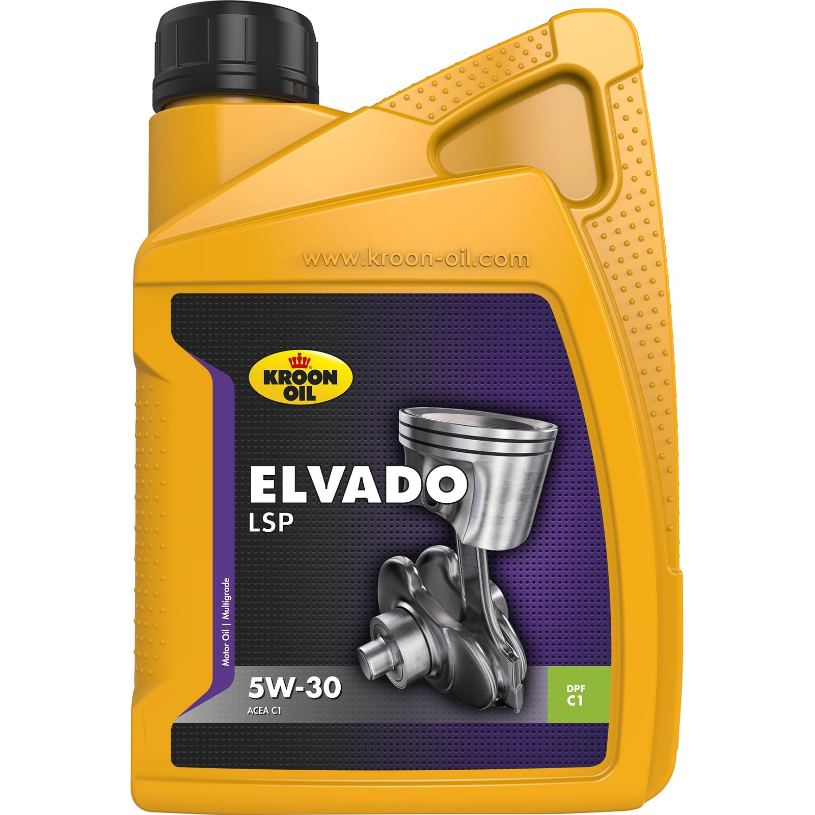 Моторное масло Kroon-Oil Elvado LSP 5W30
