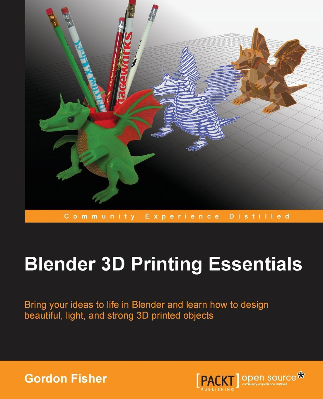 Gordon Fisher Blender 3D Printing Essentials 2012 full color 180 pages printing catalog of chef essentials