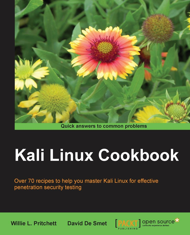 Willie Pritchett Kali Linux Cookbook футболка print bar kali