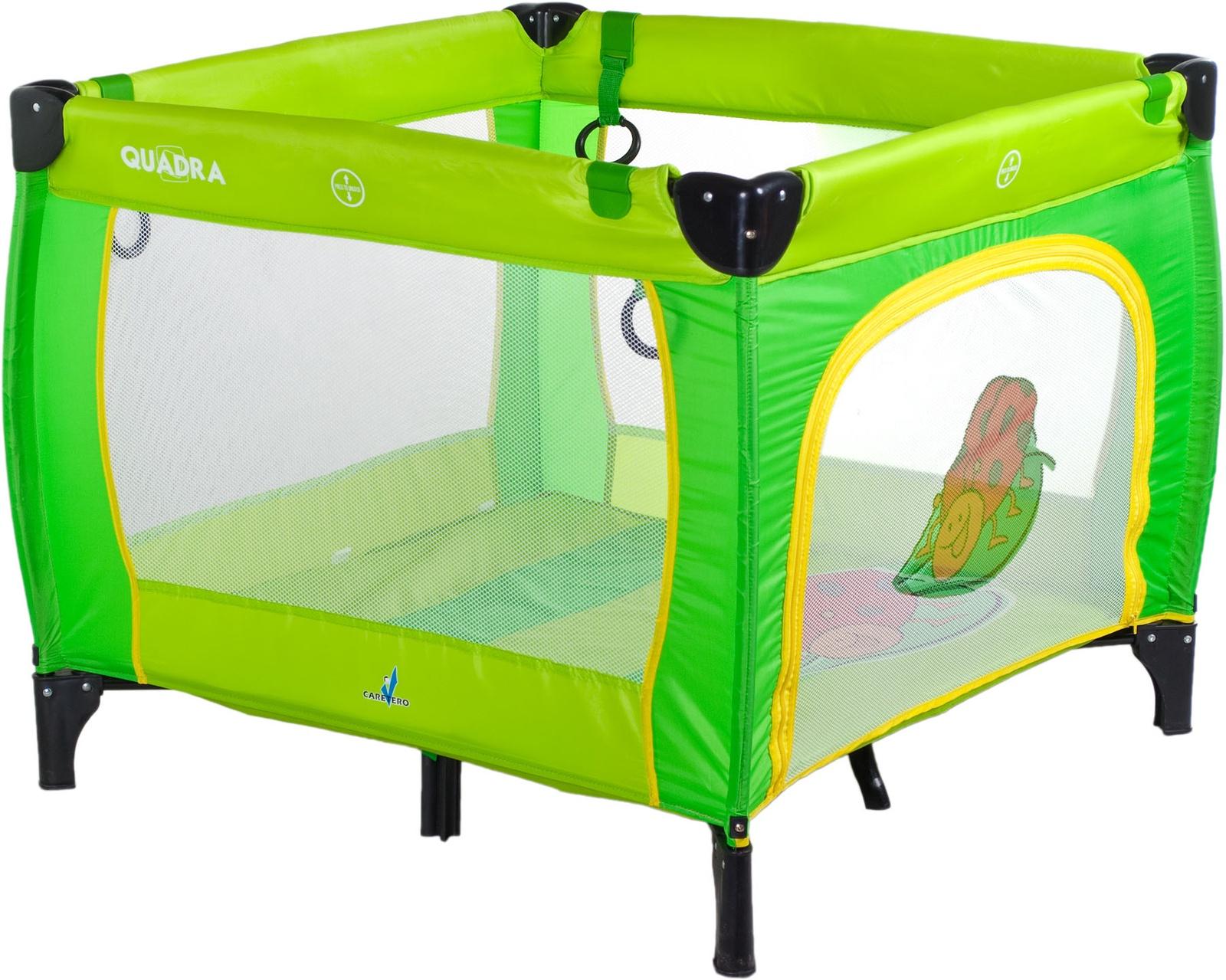 Манеж CARETERO TERO-3991 зеленый стул caretero one blue tero 7230