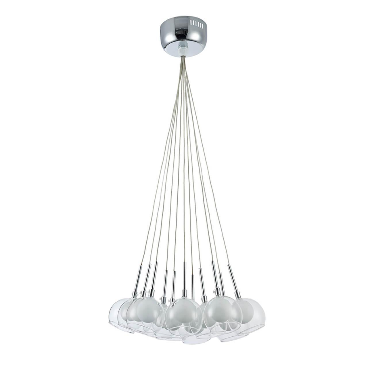 Подвесной светильник Freya FR5175-PL-11-CH, белый подвесная люстра freya carmela fr5175 pl 11 ch