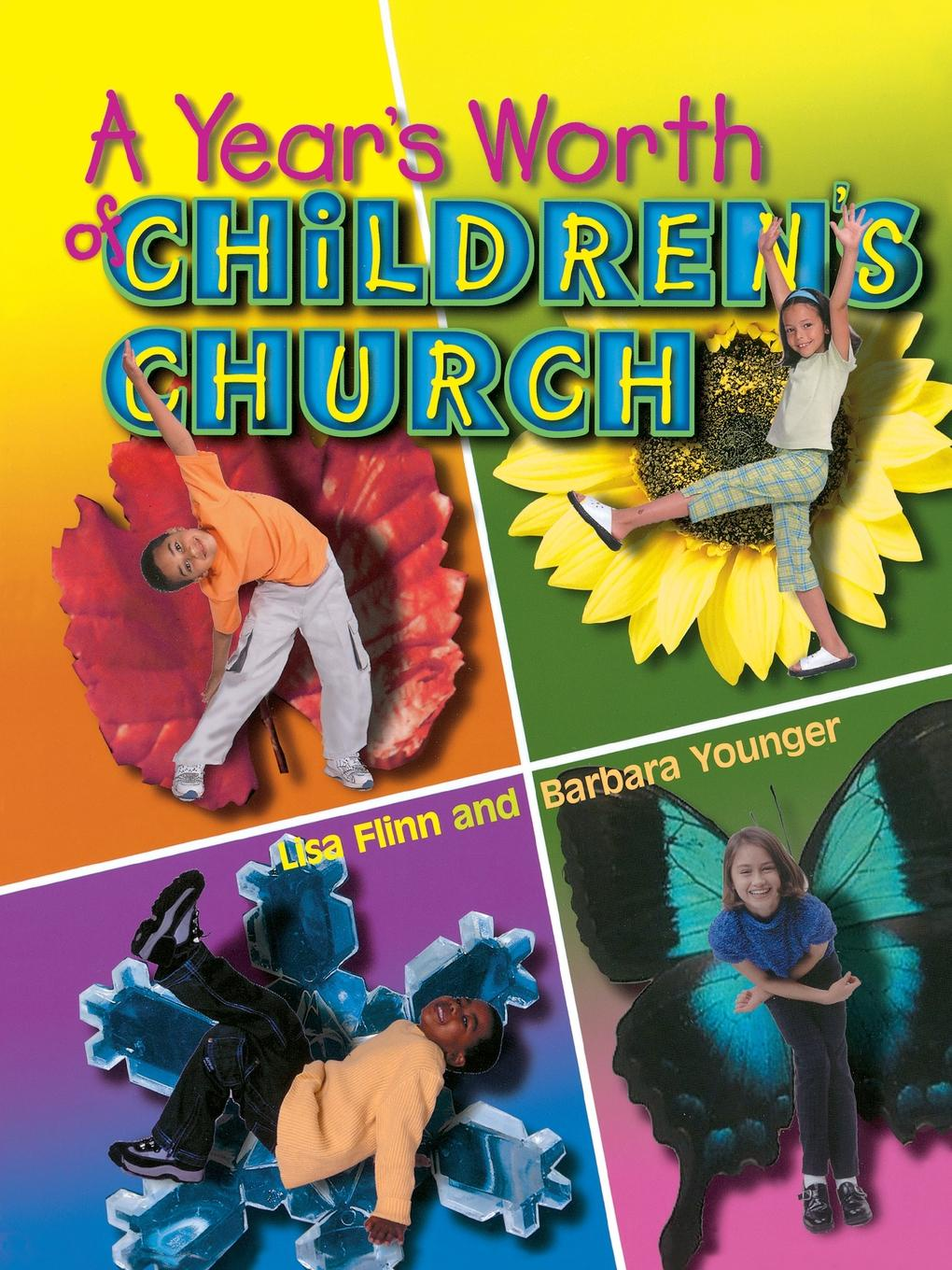 John H. Marks, Virgil M. Rogers, Barbara Younger A Year's Worth of Children's Church church s шарф