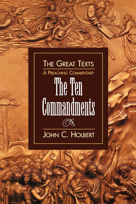 John C. Holbert Ten Commandments ten c толстовка