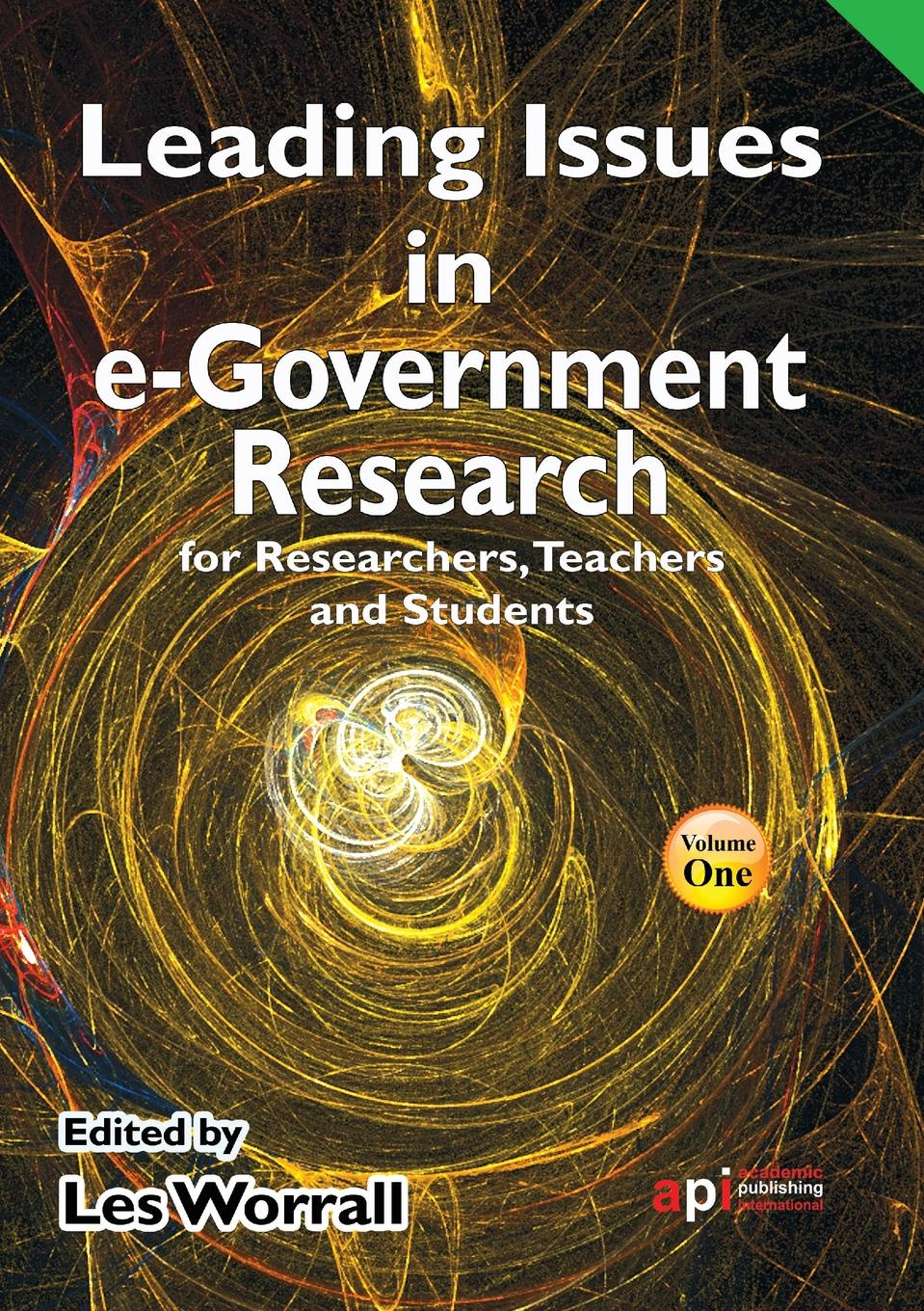 Leading Issues in E-Government Research for Researchers, Teachers and Students