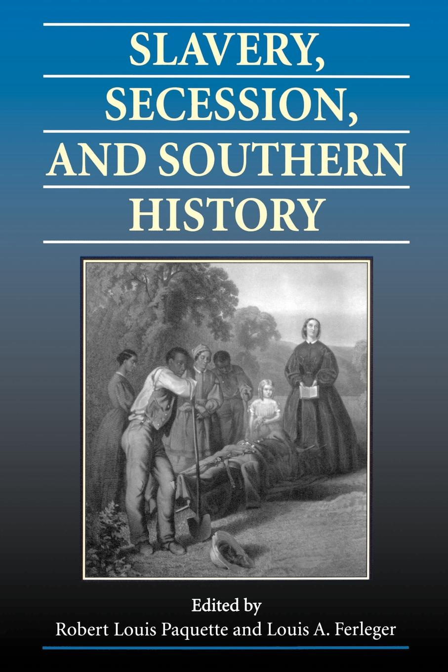Slavery, Secession, and Southern History slavery