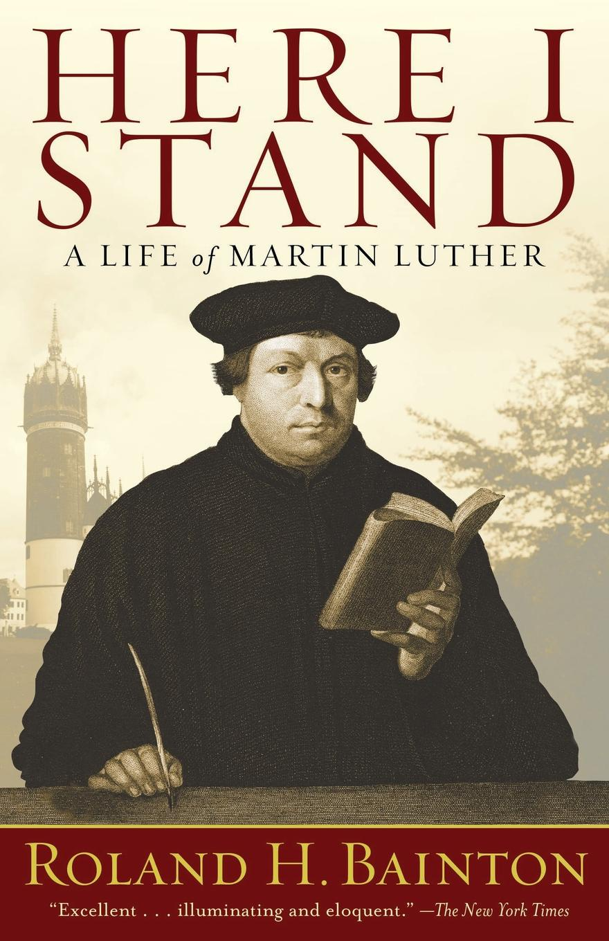 Фото - Roland Herbert Bainton Here I Stand. A Life of Martin Luther 360 degree round finger ring mobile phone smartphone stand holder