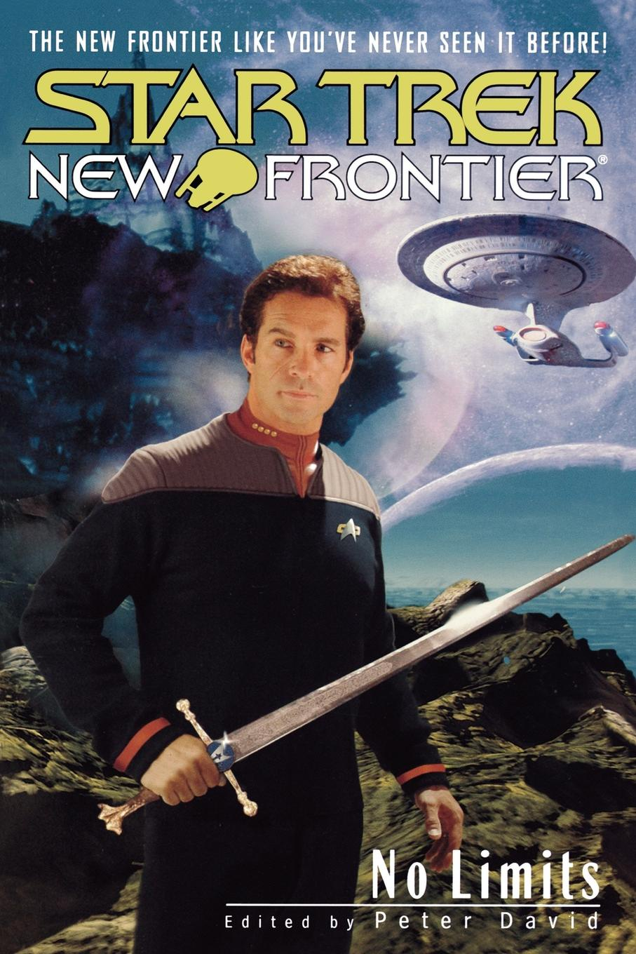 Peter David Star Trek. New Frontier: No Limits Anthology elisa j kassin star trek strange new worlds vii