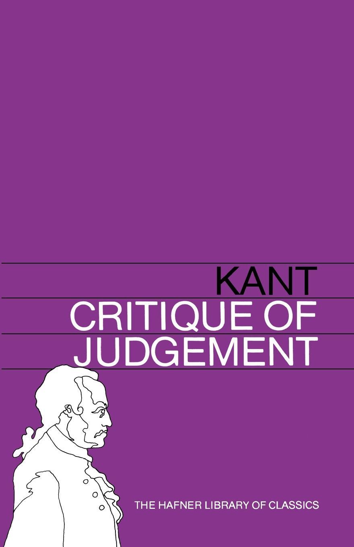 И. Кант, J. H. Bernard Critique of Judgement