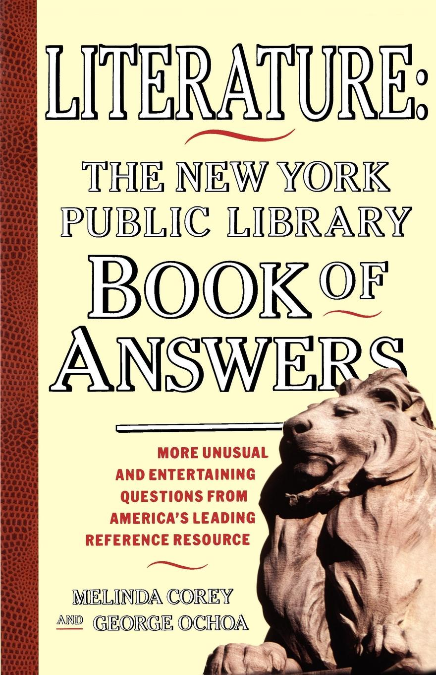 Melinda Corey Literature. New York Public Library Book of Answers andrea sutcliffe the new york public library amazing u s geography a book of answers for kids