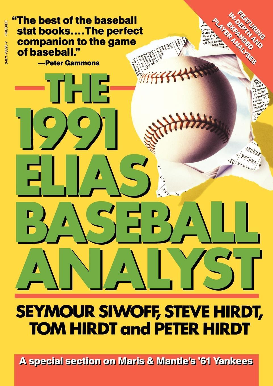 все цены на Seymour Siwoff Elias Baseball Analyst, 1991 онлайн