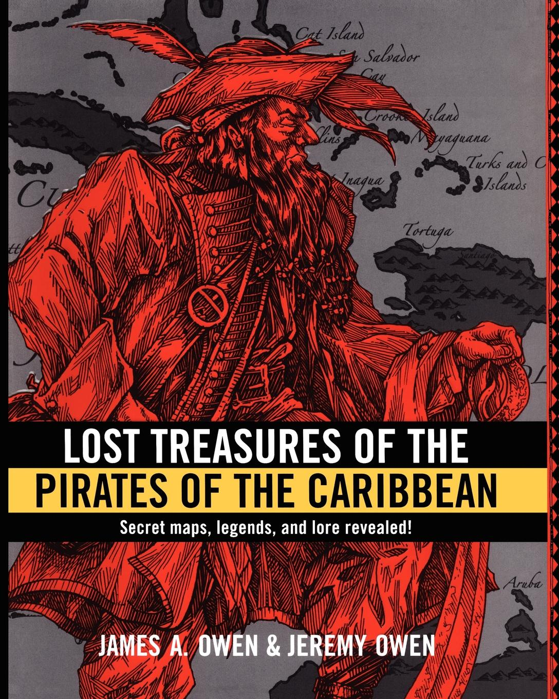 James A. Owen, Jeremy Owen Lost Treasures of the Pirates of the Caribbean melissa james long lost father