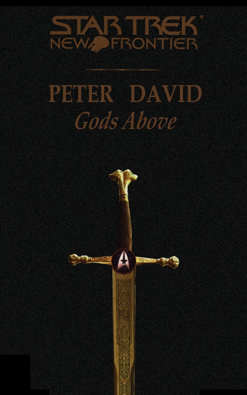 Peter David Star Trek. New Frontier: Gods Above elisa j kassin star trek strange new worlds vii