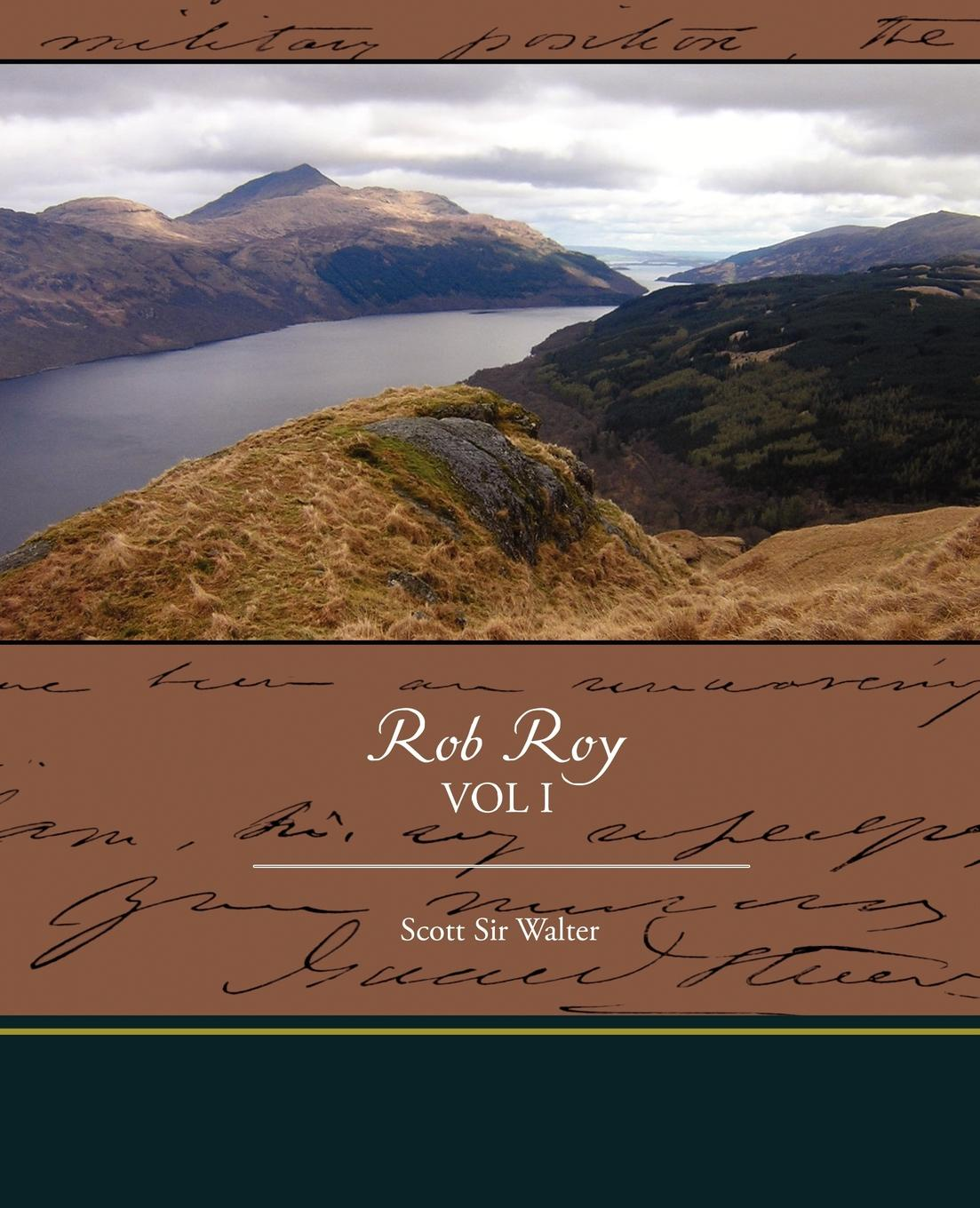 Scott Sir Walter Rob Roy unknown the hunted outlaw or donald morrison the canadian rob roy