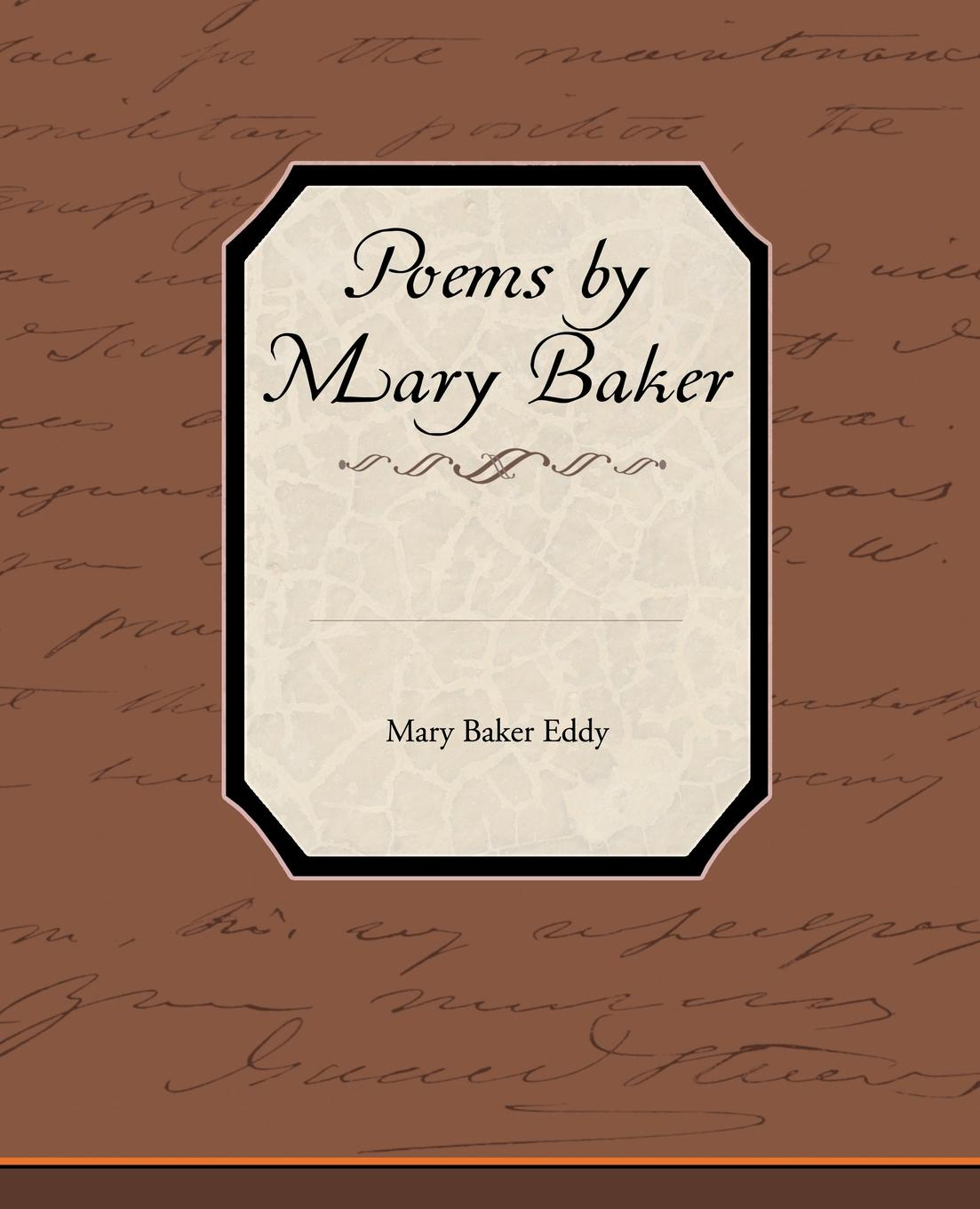 лучшая цена Mary Baker Eddy Poems by Mary Baker Eddy