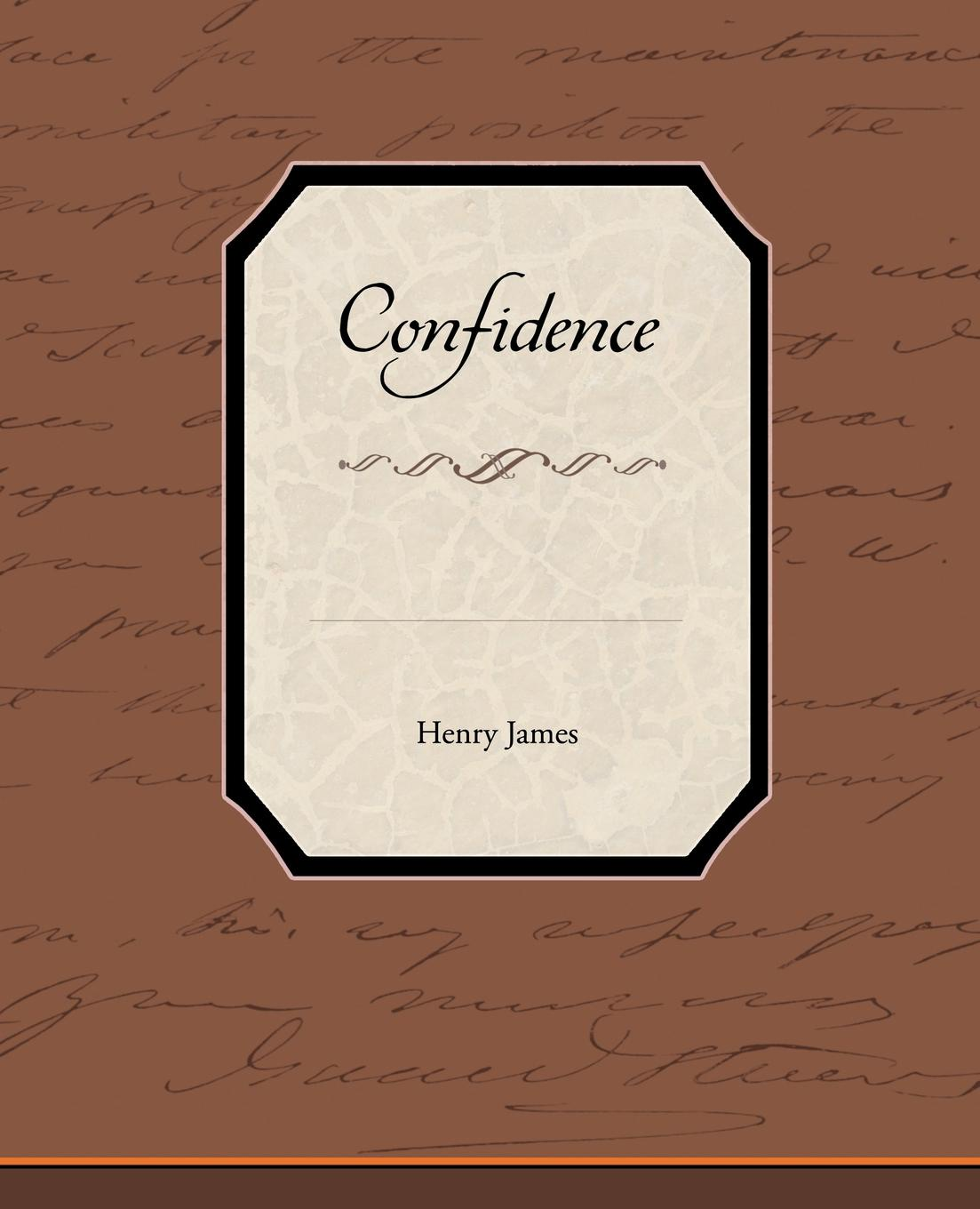 Henry Jr. James Confidence henry james confidence