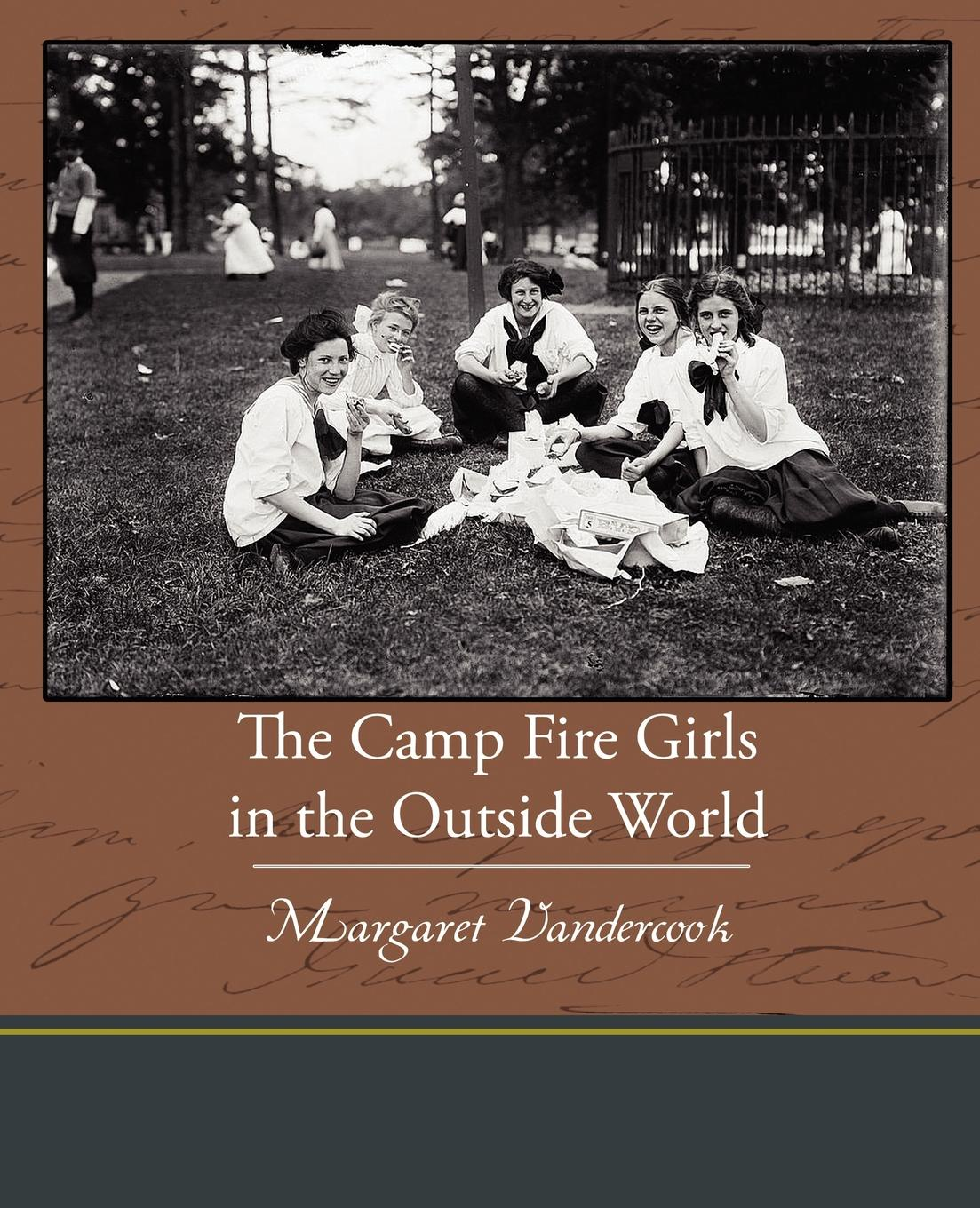 Margaret Vandercook The Camp Fire Girls in the Outside World lemax village collection camp fire battery operated 04273
