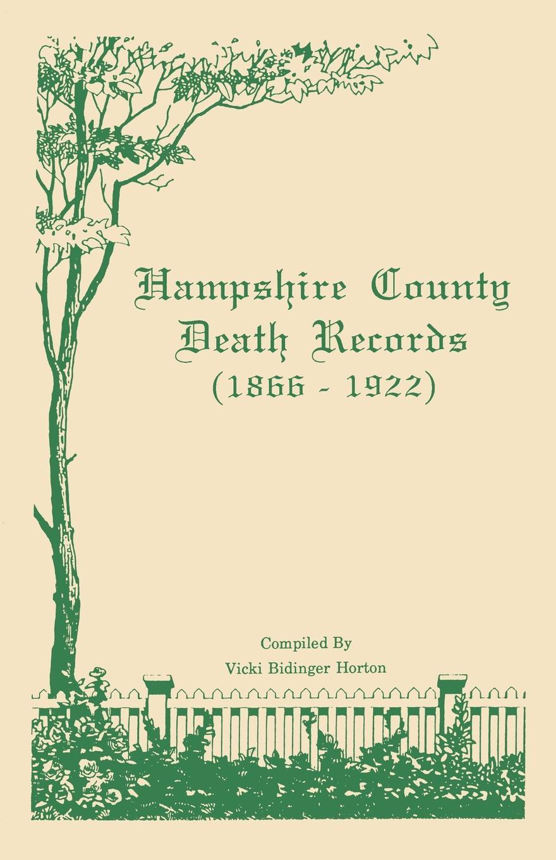 Hampshire County .West Virginia. Death Records
