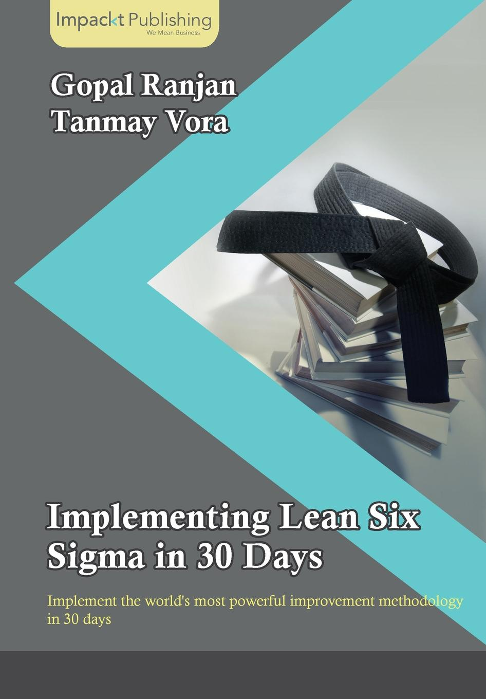 Фото - Gopal Ranjan, Tanmay Vora Implementing Lean Six Sigma in 30 Days bruce williams six sigma for dummies