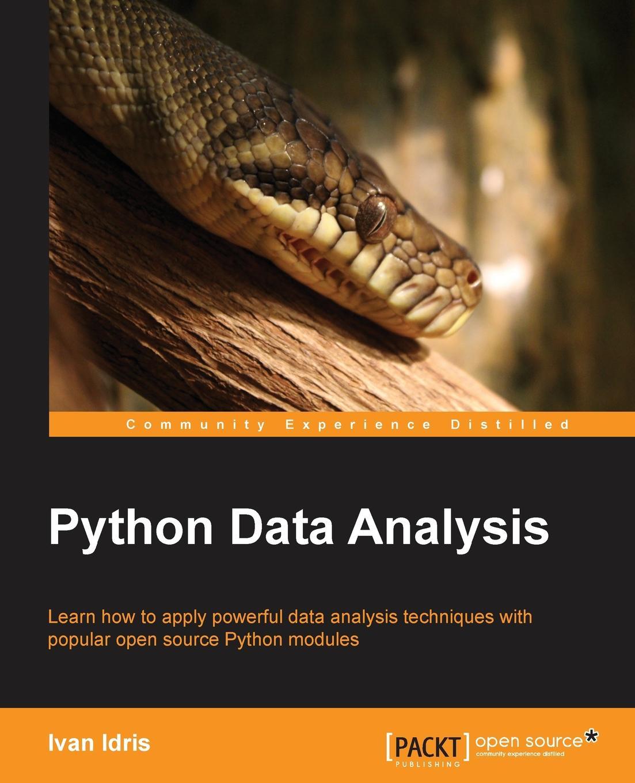 Ivan Idris Python Data Analysis