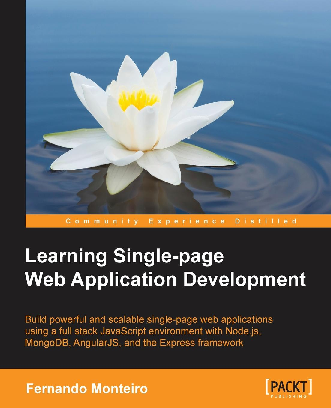 Fernando Monteiro Learning Single Page Web Application Development mark page botelho teaching beginning web page design