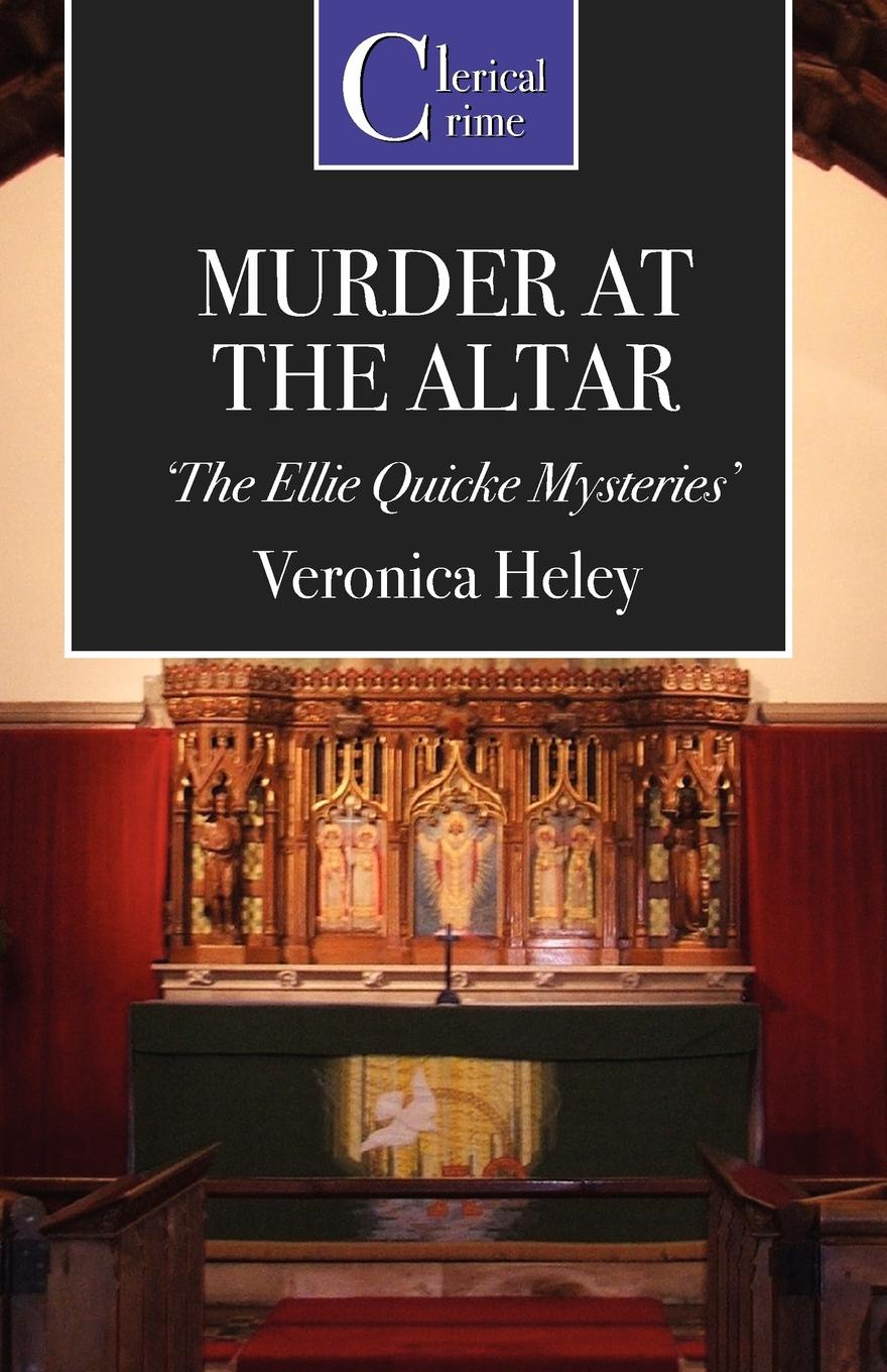 Veronica Heley Murder at the Altar rosewood ebony wood case a nave altar altar for taiwan alice first few lines inside the table