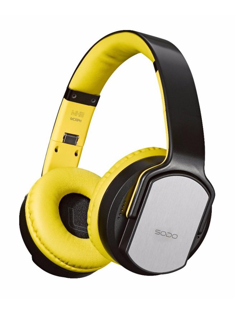 Bluetooth-гарнитура SODO MH2, желтый SODO