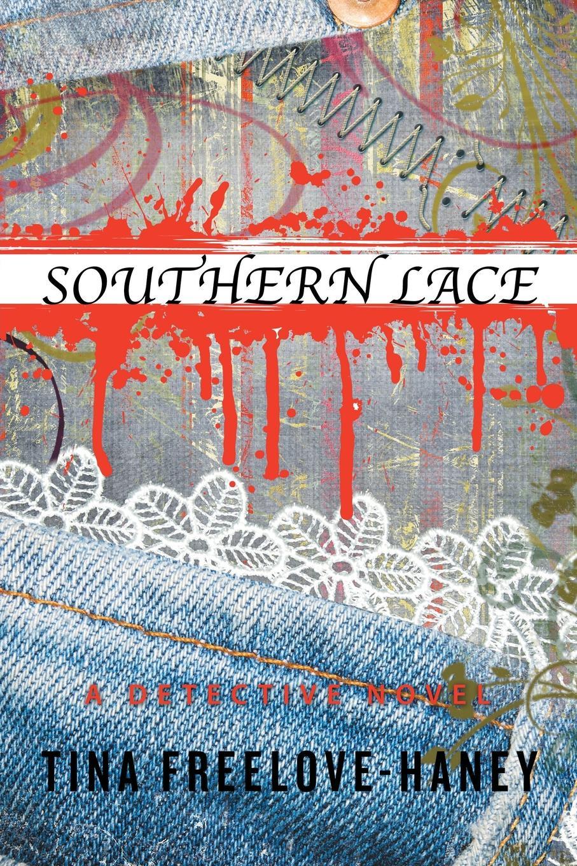 Фото - Tina Freelove-Haney Southern Lace. A Detective Novel contrast lace keyhole back blouse