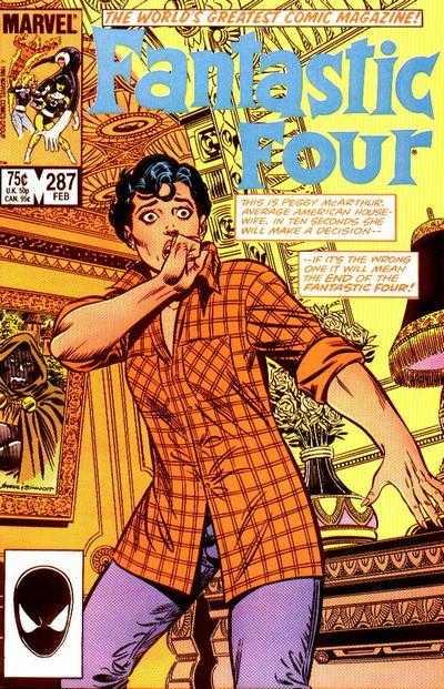 Mike Carlin Fantastic Four #287