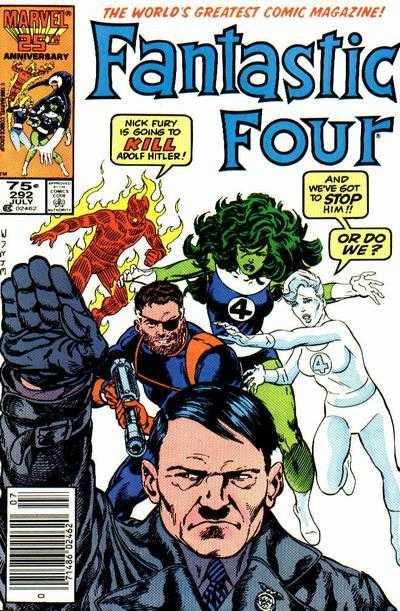 Mike Carlin Fantastic Four #292 nick mason berlin